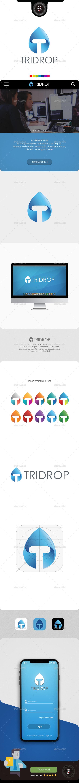 Tridrop - Letters Logo Templates