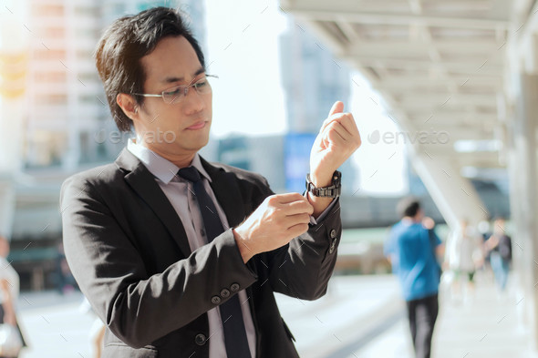 business man of asia - Stock Photo - Images
