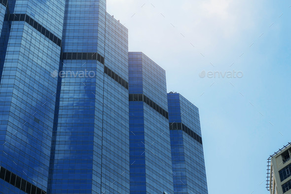 Office building with sky - Stock Photo - Images