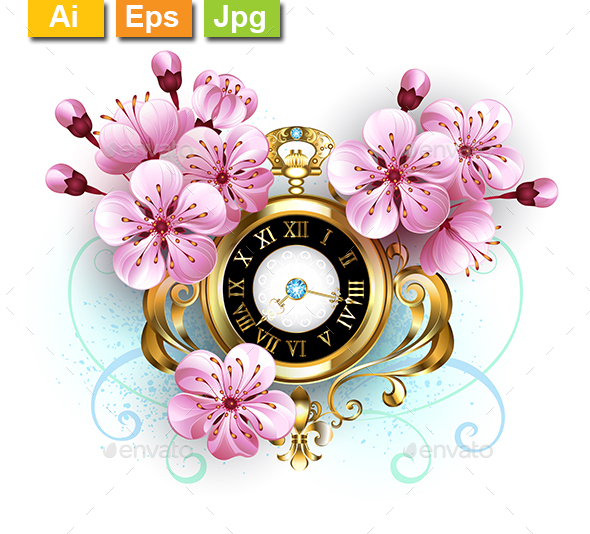 Sakura Watch - Decorative Symbols Decorative