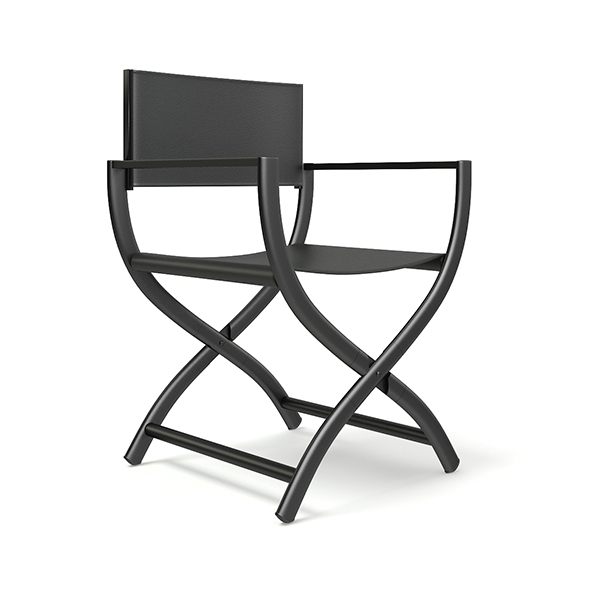 Black Chair 3D Model - 3DOcean Item for Sale