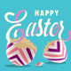Happy Easter Text Animation - VideoHive Item for Sale