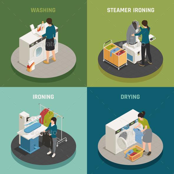 Laundry 2x2 Design Concept - Business Conceptual
