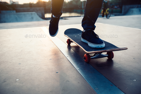 Skateboarding - Stock Photo - Images