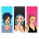 Retro Girls Banners - GraphicRiver Item for Sale
