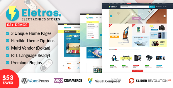 VG Eletros - Electronics Store WooCommerce Theme - WooCommerce eCommerce