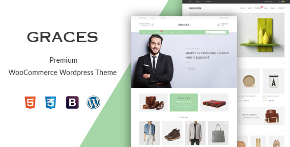 Graces - Fashion/Homeware WooCommerce WordPress Theme - WooCommerce eCommerce