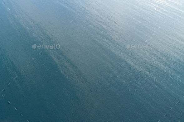 Aerial view of sea wave in the ocean - Stock Photo - Images