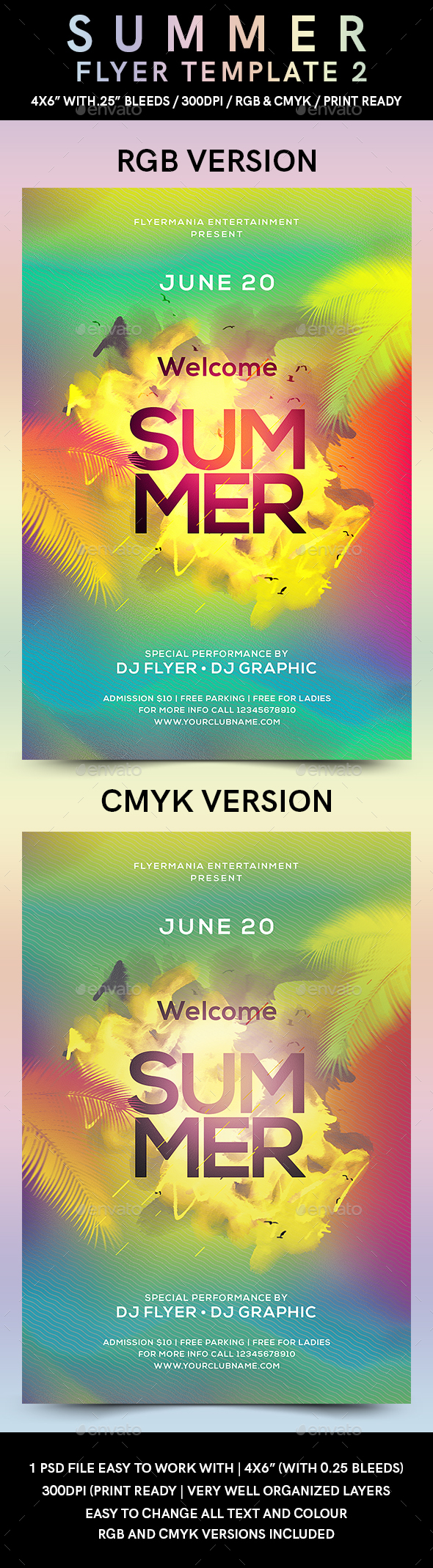 summer flyer template 2 by flyermania graphicriver
