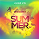 Summer Flyer Template 2