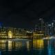 of Dubai Fountain Show Near Dubai Mall, Souk Al Bahar, Address Hotel - VideoHive Item for Sale