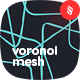 Voronoi Mesh Seamless Patterns / Backgrounds - GraphicRiver Item for Sale
