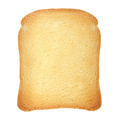 Rusk bread on white, clipping path - PhotoDune Item for Sale