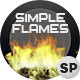 Simple Flames - 4 Pack - VideoHive Item for Sale