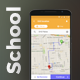 School Bus Tracking Android App (XML Code) Template