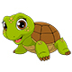 Cheerful Child Turtle - GraphicRiver Item for Sale