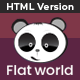 Flat World - Multi-Purpose Category Site Template