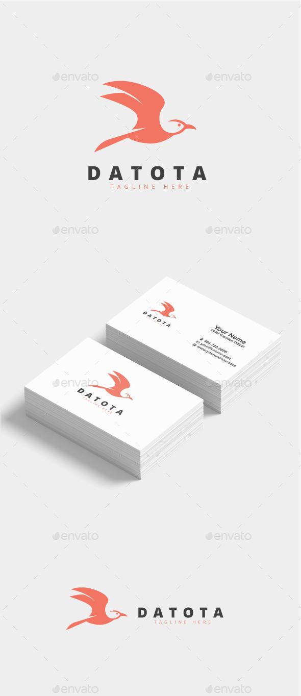 Datota Bird Logo - Animals Logo Templates