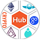 CryptoHub: Coin Launcher | ICO System | MultiCrypto Wallets | CryptoExchange | Payment Gateway