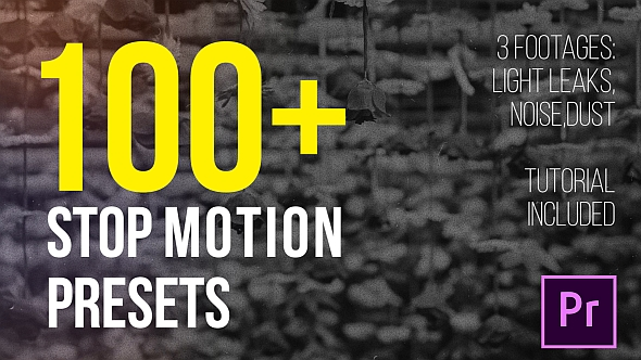 Videohive 21662972 Stop Motion Presets