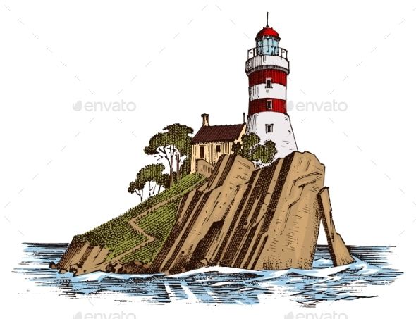 Lighthouse and Sea - Landscapes Nature