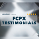 Testimonials for Final Cut Pro X