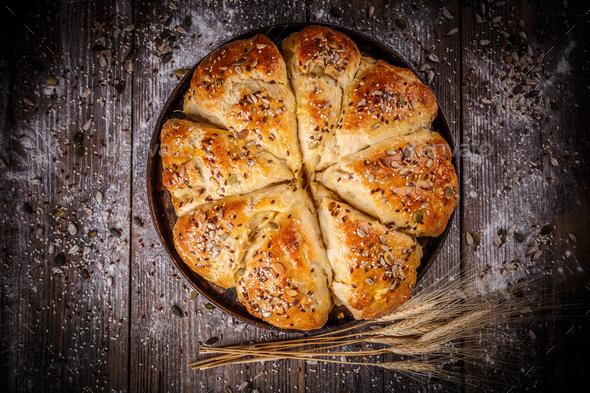 Fresh bakery product - Stock Photo - Images