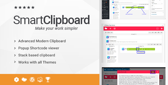 Ultimate Clipboard and View Shortcode Addon for WPBakery Page Builder (formerly Visual Composer) - CodeCanyon Item for Sale