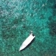 White Yachts in Tropical Sea Near Limestone Rocks. Aerial View - VideoHive Item for Sale