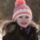 Little Girl Playing with Snow in Winter - VideoHive Item for Sale
