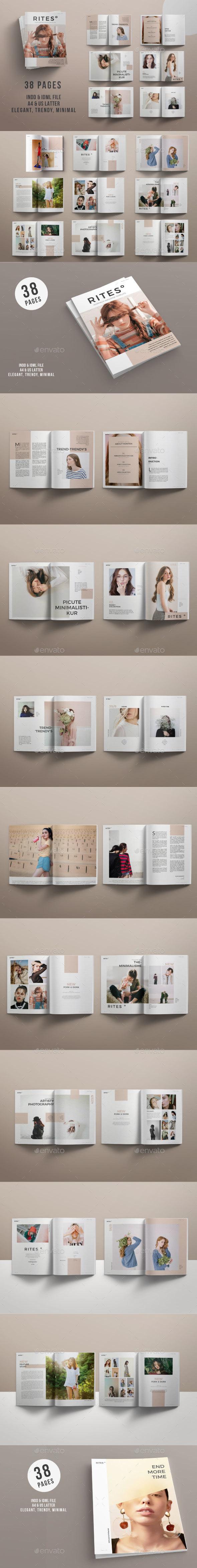 Rites Magazine - Portfolio Brochures