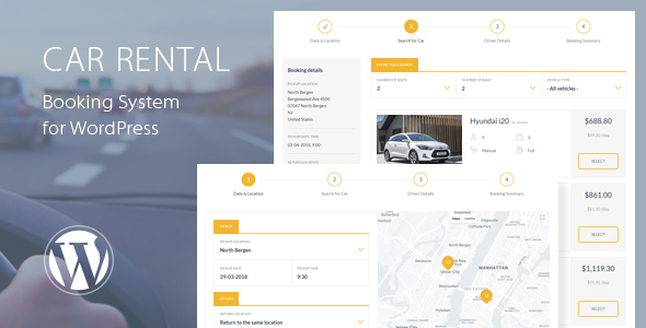 Car Rental Booking System for WordPress - CodeCanyon Item for Sale