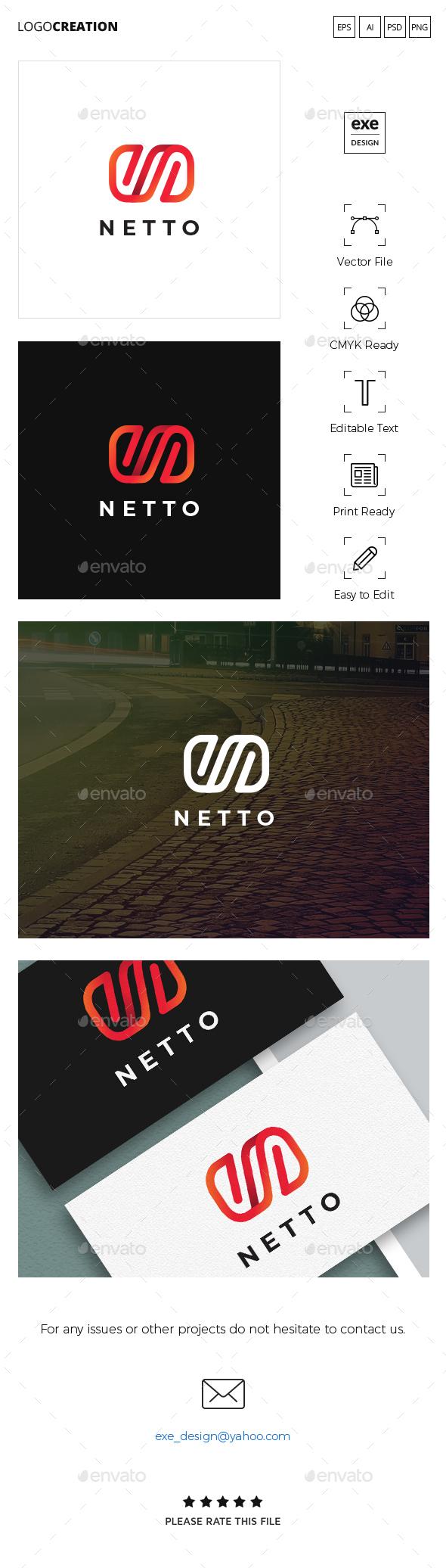 Letter N Logo - Letters Logo Templates