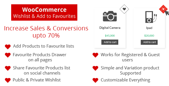 WooCommerce Wishlist & Add to Favourites - CodeCanyon Item for Sale