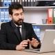 Businessman Having an Online Video Talk Via His Laptop - VideoHive Item for Sale