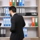 After Long Hours of Work Businessman Is Relaxing By Dancing in the Office - VideoHive Item for Sale