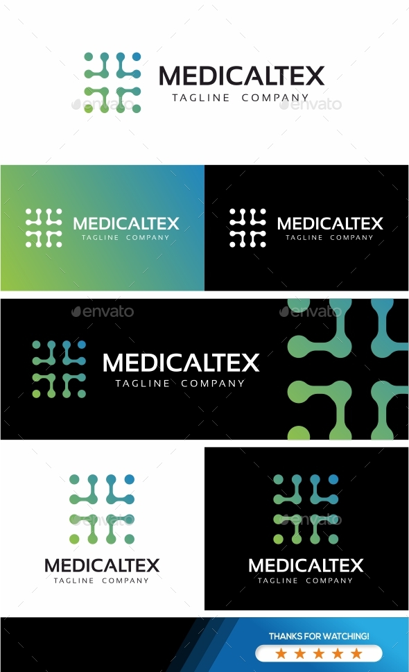 Medical Cross Technologies Logo - Symbols Logo Templates