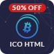 Bit Money - Bitcoin Cryptocurrency ICO Landing Page HTML Template