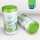 Wet Wipes Canister Mockup - GraphicRiver Item for Sale