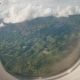 View Through an Airplane Window on the Tropical Island - VideoHive Item for Sale