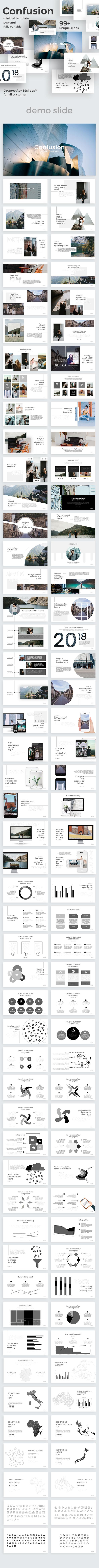 Confusion Creative Google Slide Template - Google Slides Presentation Templates