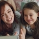 Happy Mother and Little Girl Taking Selfie Photo with Smartphone Camera and Have Fun Grimacing While - VideoHive Item for Sale
