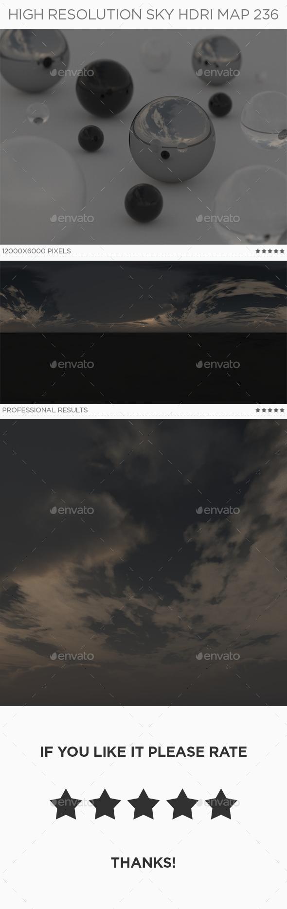 High Resolution Sky HDRi Map 236 - 3DOcean Item for Sale