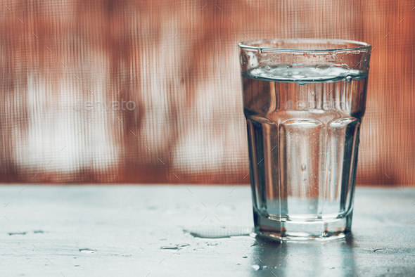 Glass of water - Stock Photo - Images