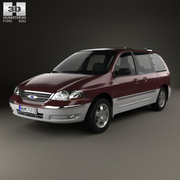 Ford Windstar 1999 - 3DOcean Item for Sale