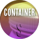 Plastic Big Container Jar Open Close