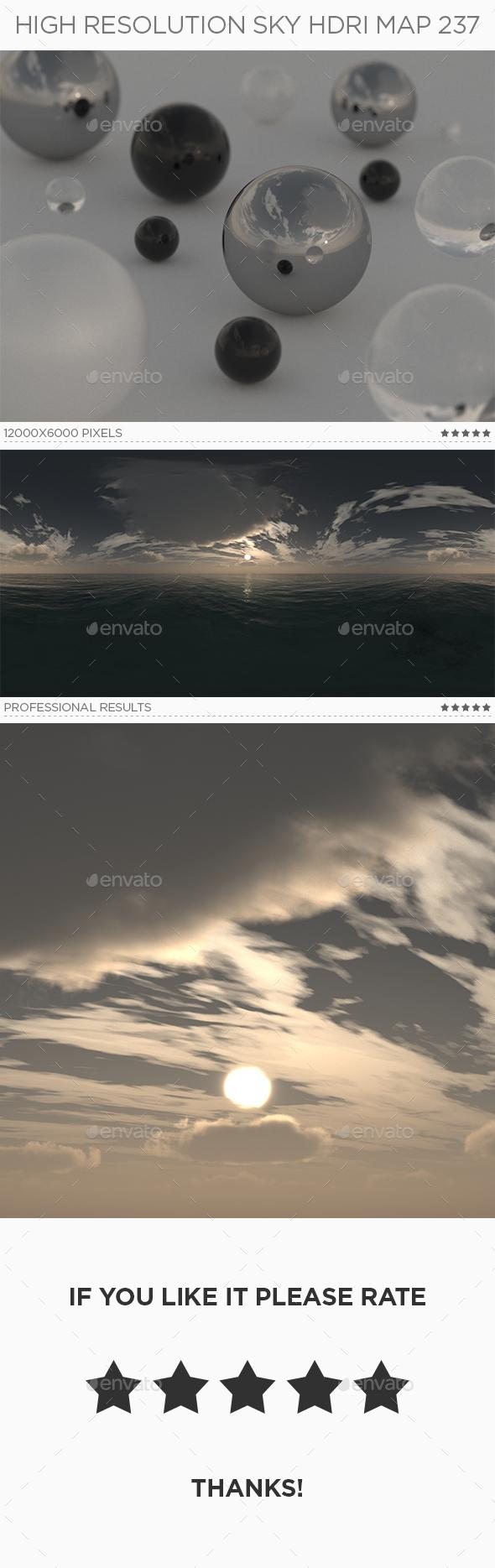 High Resolution Sky HDRi Map 237 - 3DOcean Item for Sale