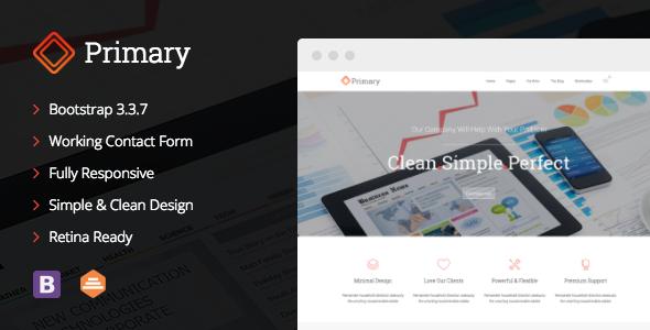 Primary - Business WordPress Theme - Business Corporate