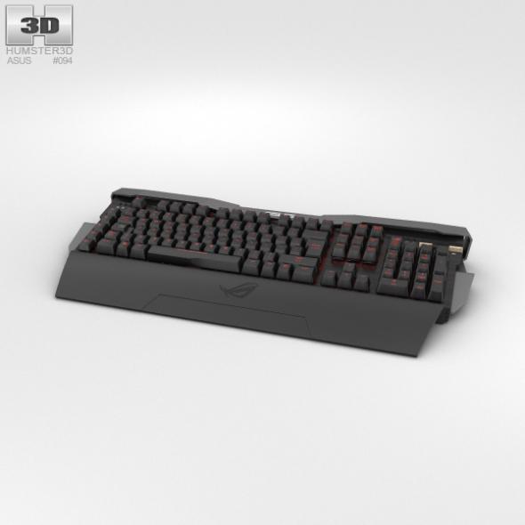 Asus ROG GK2000 Keyboard