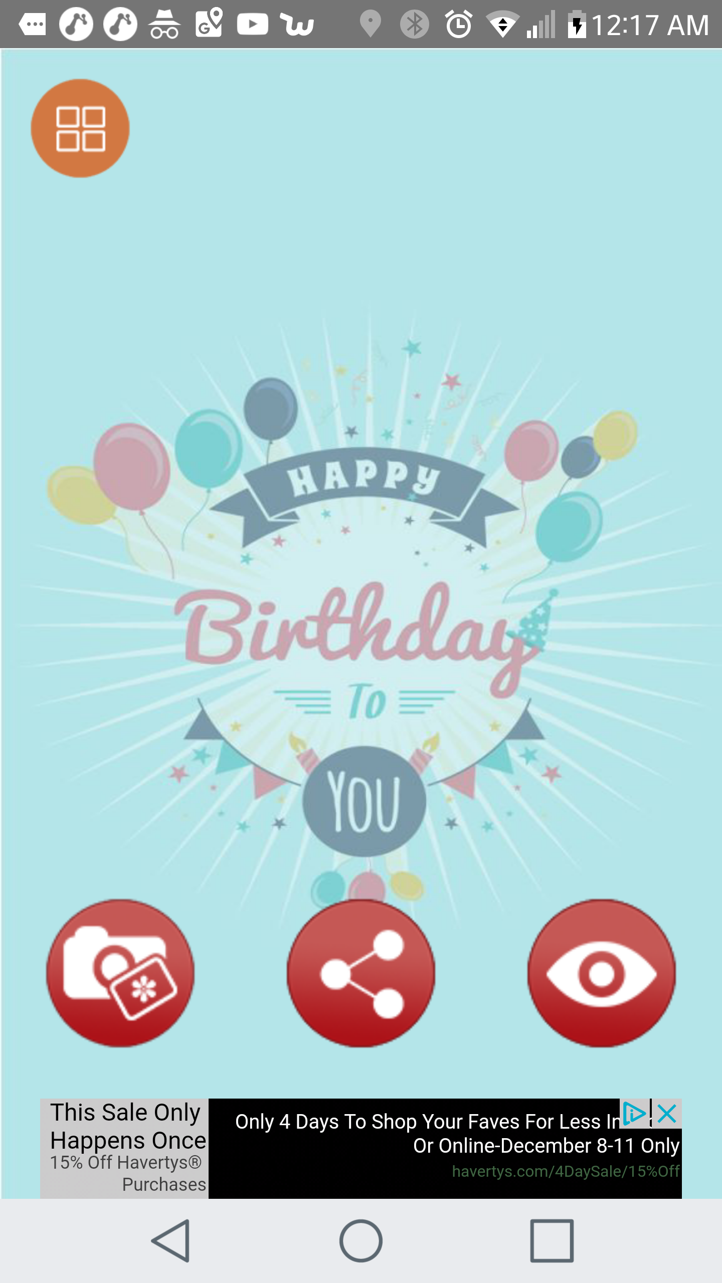 Happy Birthday Wallpaper Maker By Karmainfotech Codecanyon